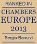 CHAMBERS EUROPE, a Sergio Barozzi un particolare riconoscimento