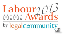 Legal community: labour law firm of the year 2013