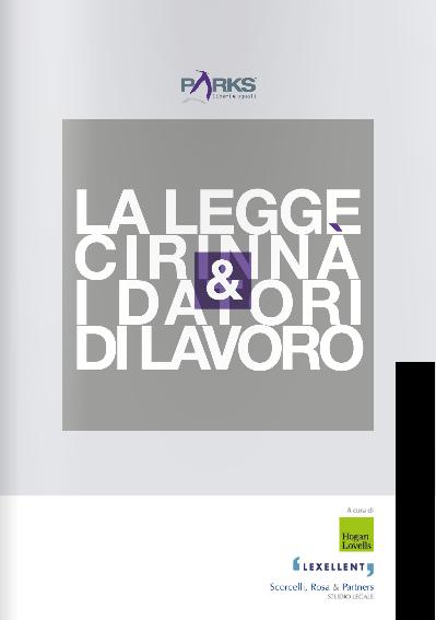LA LEGGE CIRINNà E I DATORI DI LAVORO.