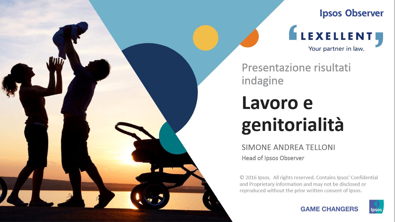 lavoro e genitorialità: i risultati della ricerca IPSOS e gli altri materiali dell'incontro.