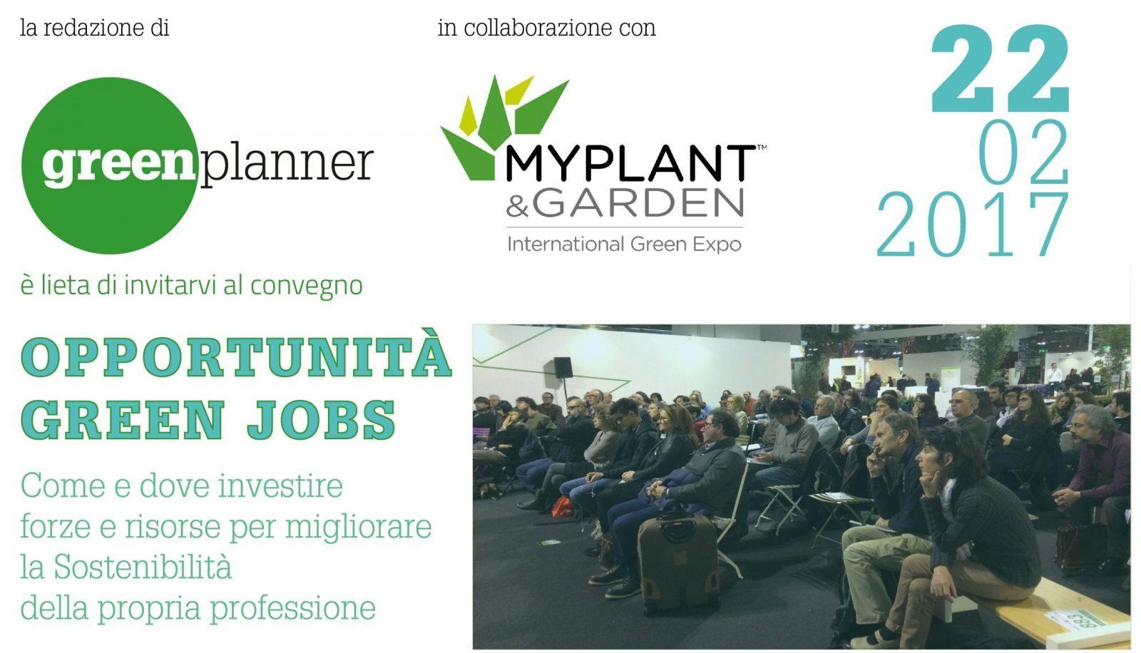 opportunità green jobs.