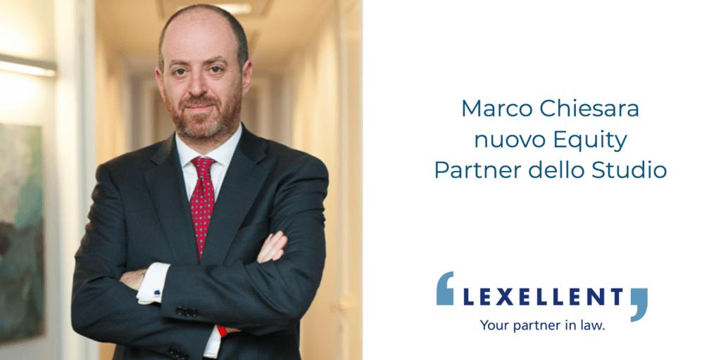 Lexellent cresce con l'ingresso del nuovo Equity Marco Chiesara