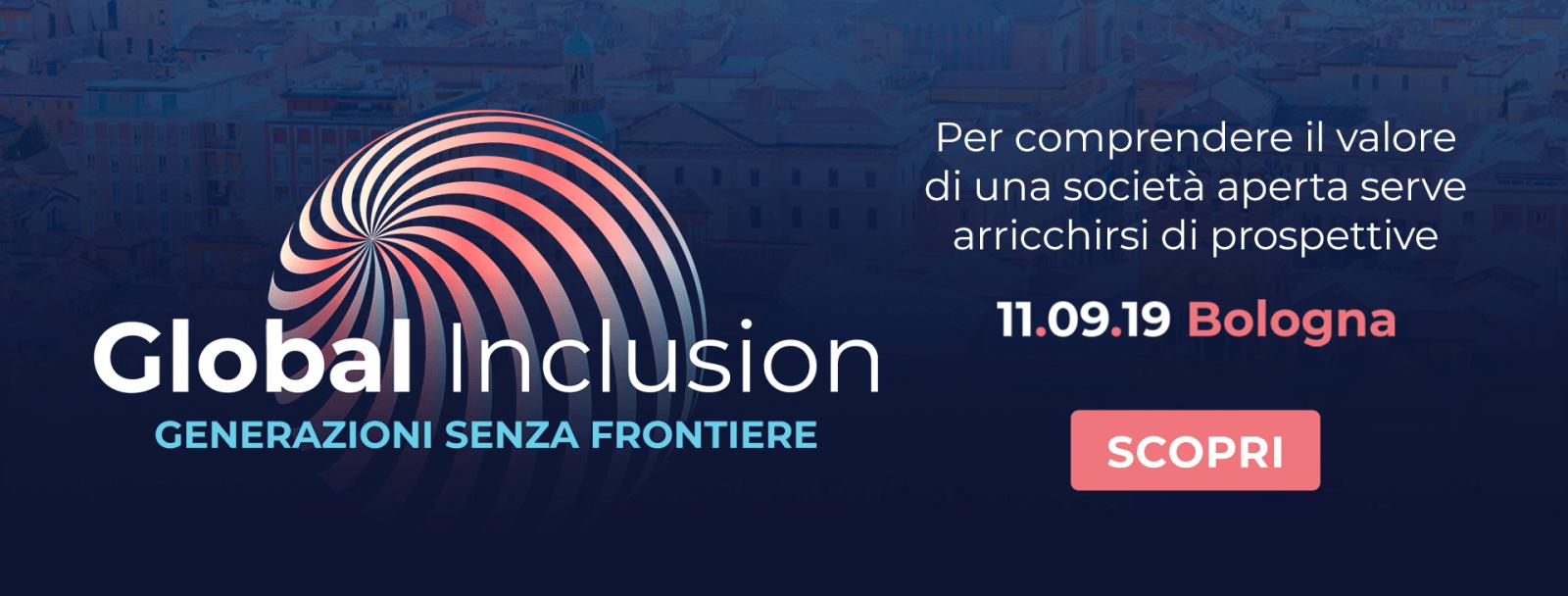 Giulietta Bergamaschi partecipa a Global Inclusion – Bologna 11 Settembre 2019