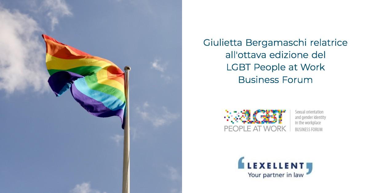 Lexellent all'ottava edizione del LGBT People at Work Business Forum