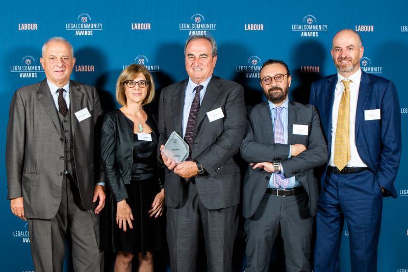 Legalcommunity Labour Awards 2019 – Lexellent e Giulietta Bergamaschi tra i premiati