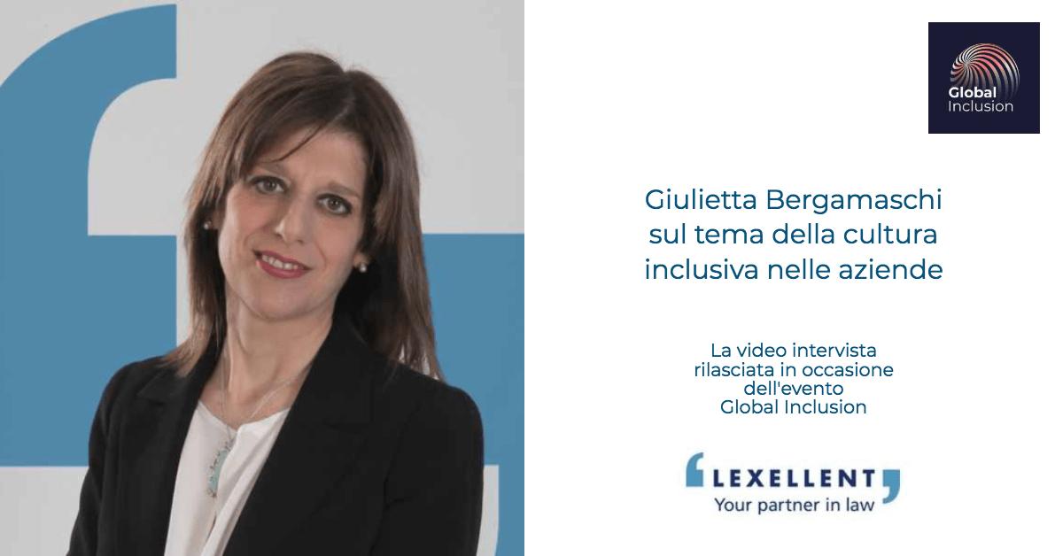 Global Inclusion: l'intervista a Giulietta Bergamaschi
