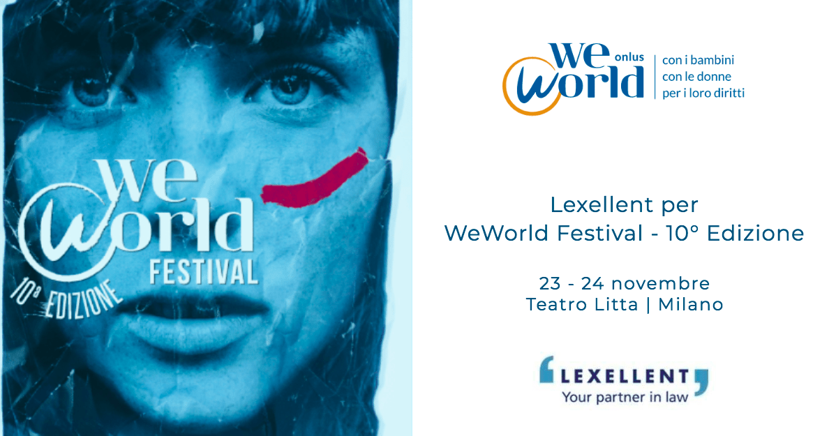Lexellent per WeWorld Festival – 10° Edizione