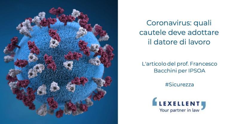 Coronavirus: quali cautele deve adottare il datore di lavoro