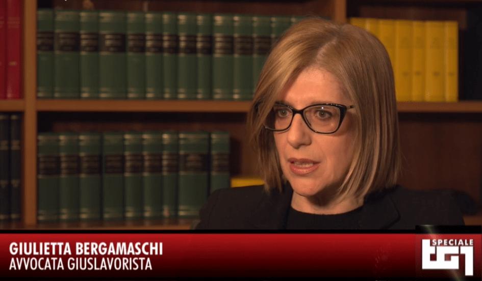 """Giulietta Bergamaschi intervistata nello Speciale Tg1 """"Pari ma dispari"""""""