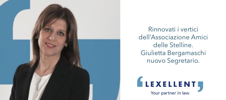 Rinnovati i vertici dell'Associazione Amici delle Stelline, Giulietta Bergamaschi nuovo Segretario