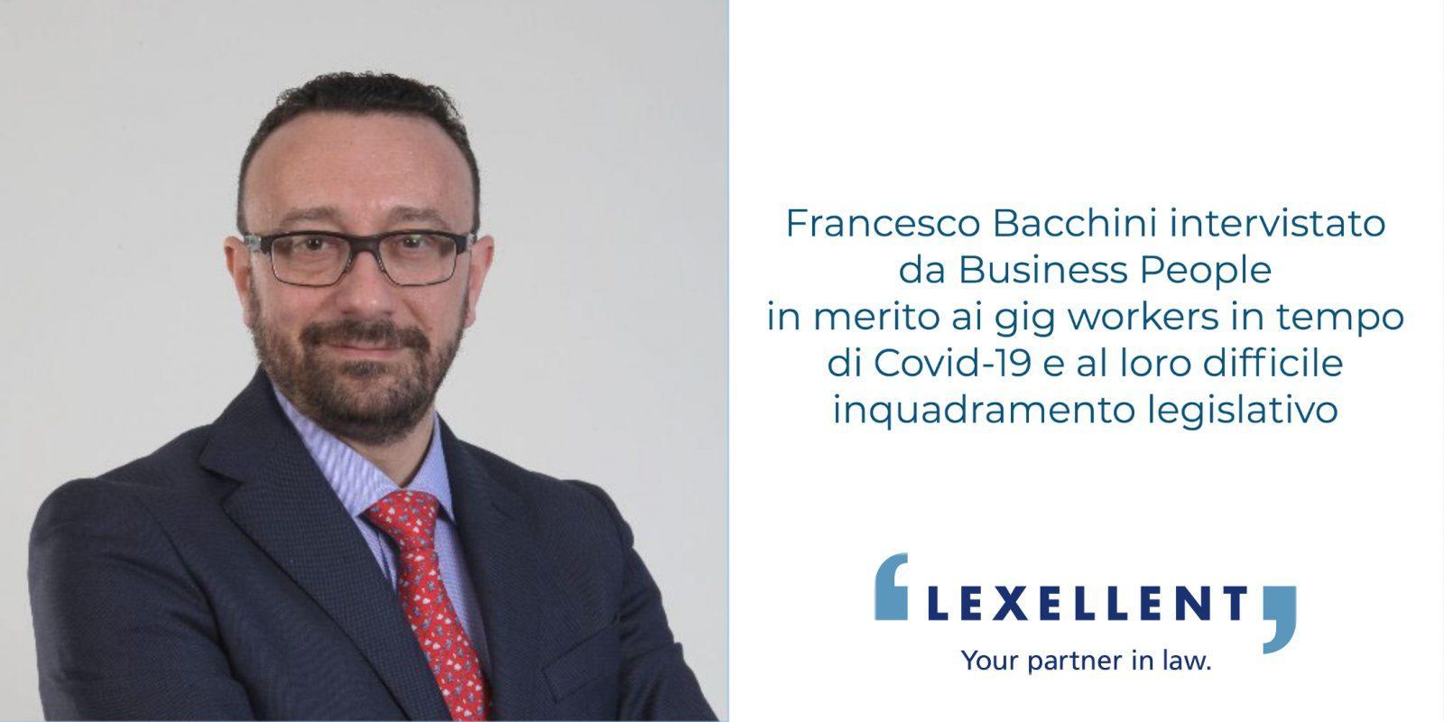 Gli ultimi ora sono i primi – Francesco Bacchini su Business People