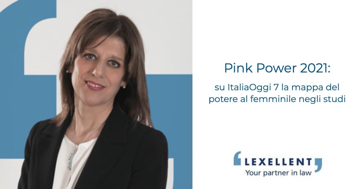 Pink Power 2021: su ItaliaOggi la mappa del potere al femminile negli studi